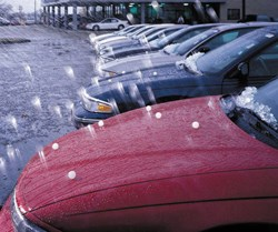 Denver Hailstorms famous for automotive hail damage