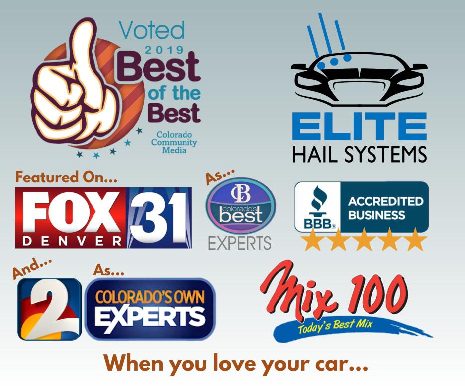 Colorado's Best Auto Hail Repair