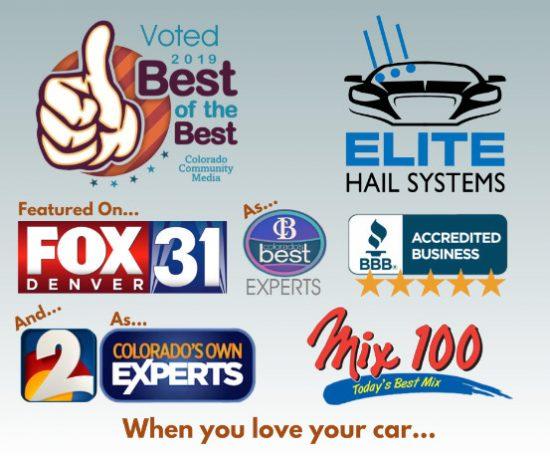 Colorado's Best Auto Hail Damage Repair