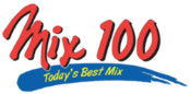 Logo for Mix 100 Today's Best Hits