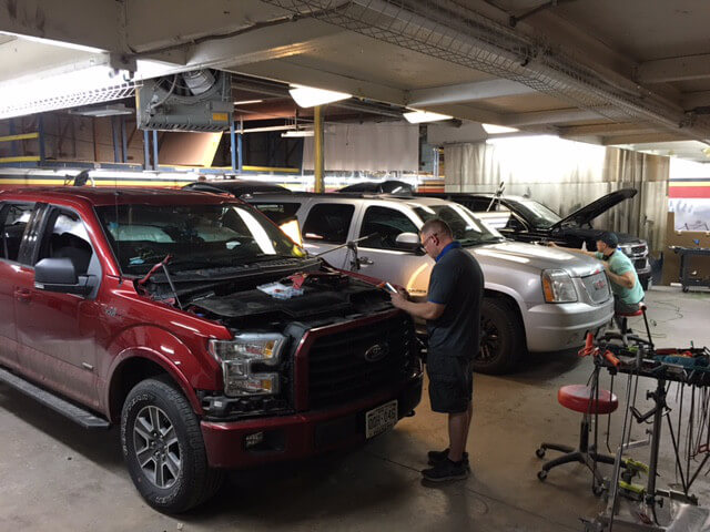 Elite Hail Systems offers a full service auto body shop near Denver, Colorado
