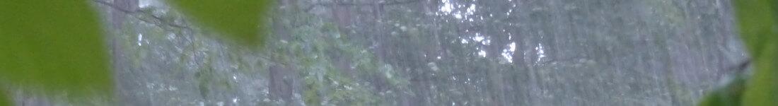 A hail storm